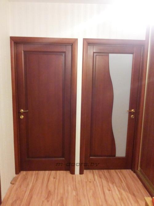 Дверь Дымок 2 массив ольхи (С)
