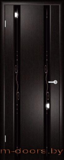 Дверь Аэро-2 массив ольхи (С)