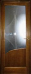 Дверь Арника 1 массив дуба (С)