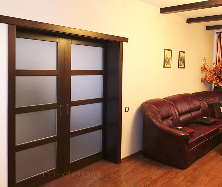 Дверь Лестница ДО массив дуба (С)