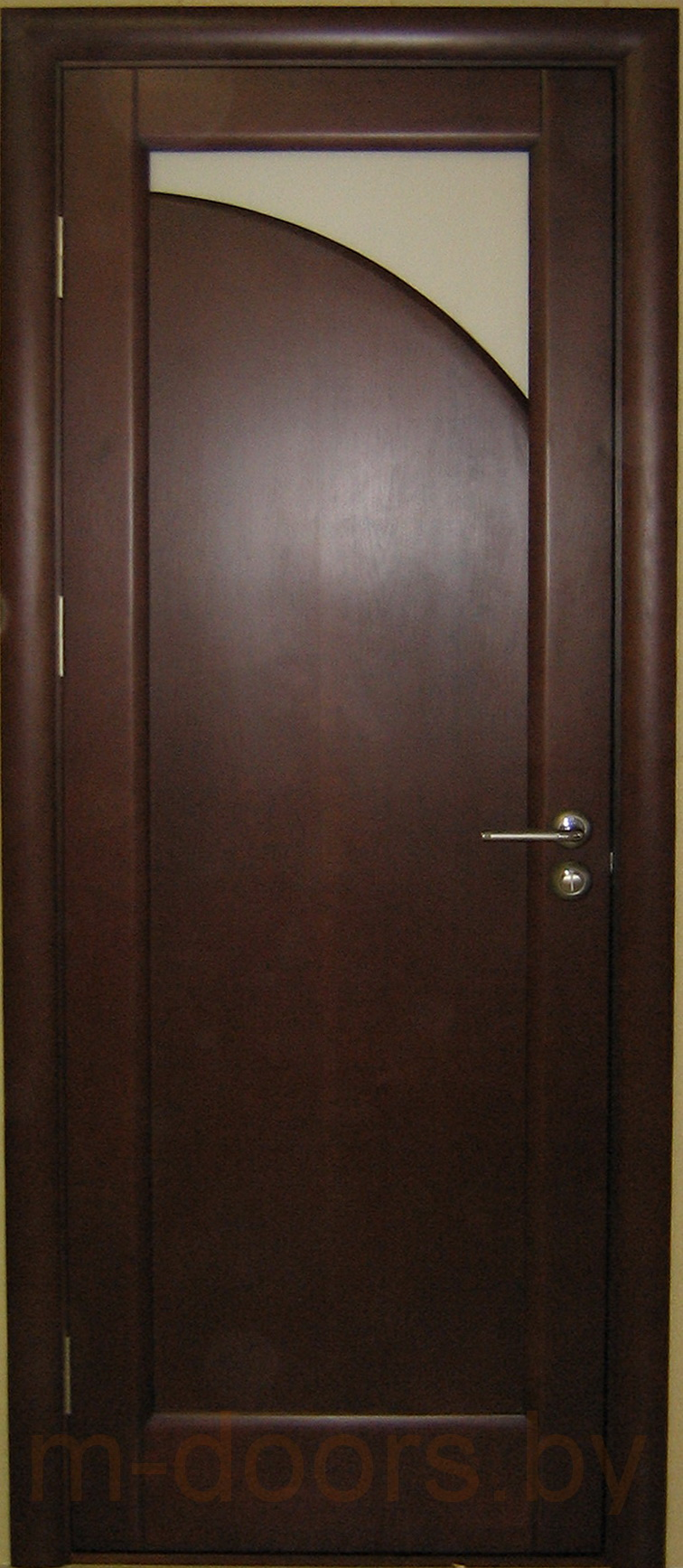 Дверь Луна-2 массив ольхи(С)