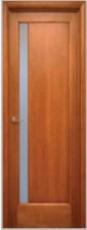 Дверь Полоса массив сосны 2(С)