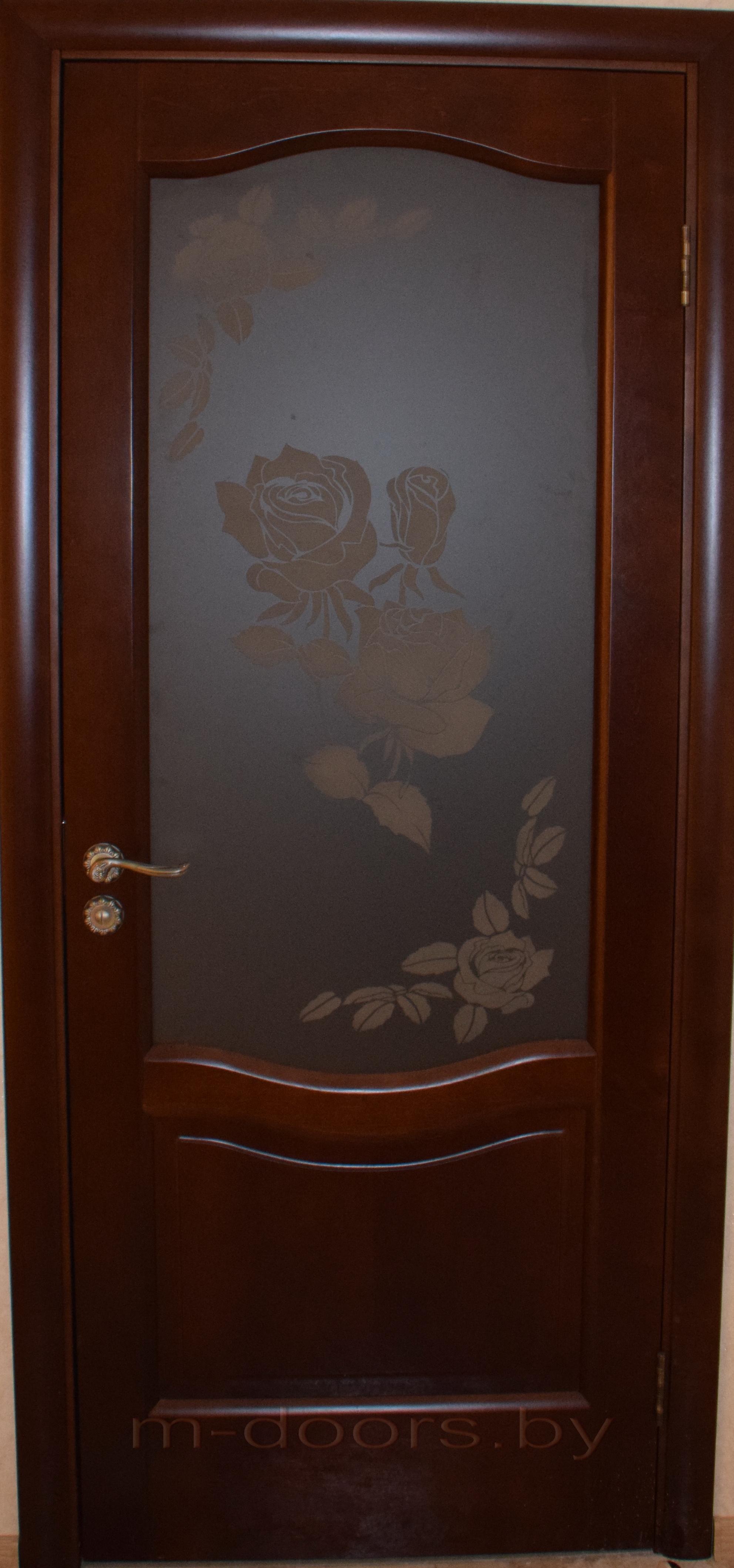 Дверь Классика-3 ДО массив дуба (С)