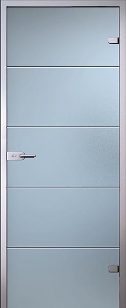 Дверь стеклянная Диана (полный комплект)