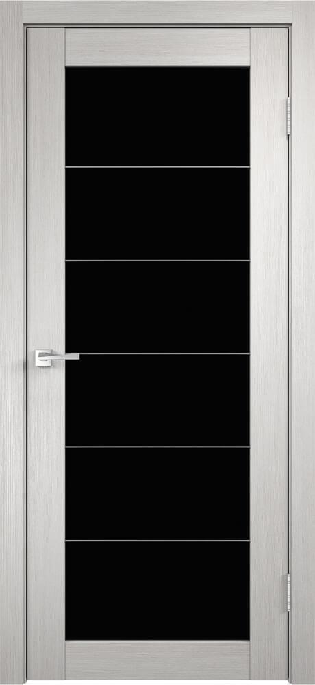 Интери 5/1 черное стекло и молдинги