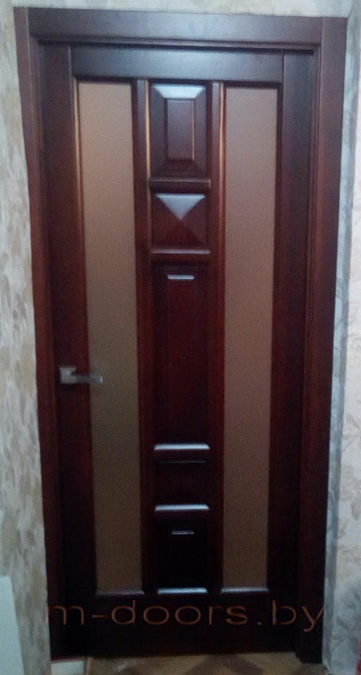 Дверь Пирамида массив сосны(С)