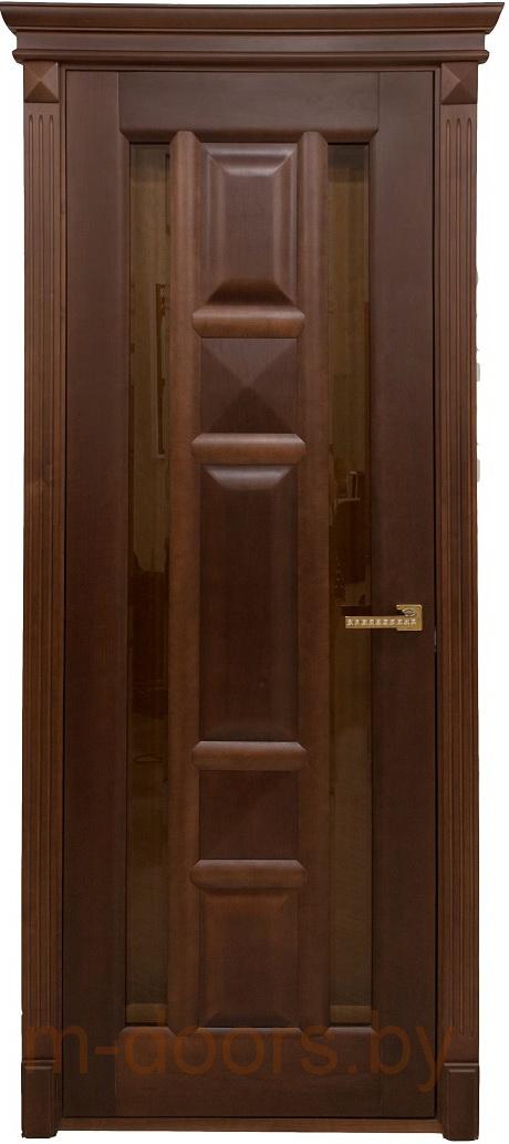 Дверь Пирамида массив дуба(С)